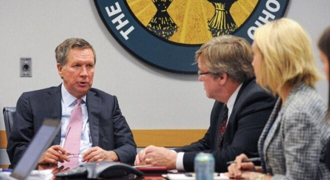 Gov. John Kasich this week signed a number of pieces of legislation including one that is seen as a victory for gun rights. (Photo: Ohio Press Sec)
