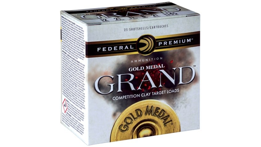 The new Gold Medal Grand will be offered in 10 loads to suit a variety of shooter's needs. (Photo: Federal Premium Ammunition)