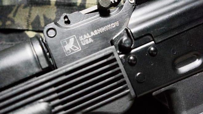 A close up shot of a Kalashnikov USA KR-9 rifle posted to social media. (Photo: Kalashnikov USA/Facebook)
