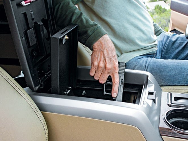 The Nebraska Supreme Court decision aims to clarify existing laws on concealed carry of non-permit holders in cars. (Photo: Console Vault)