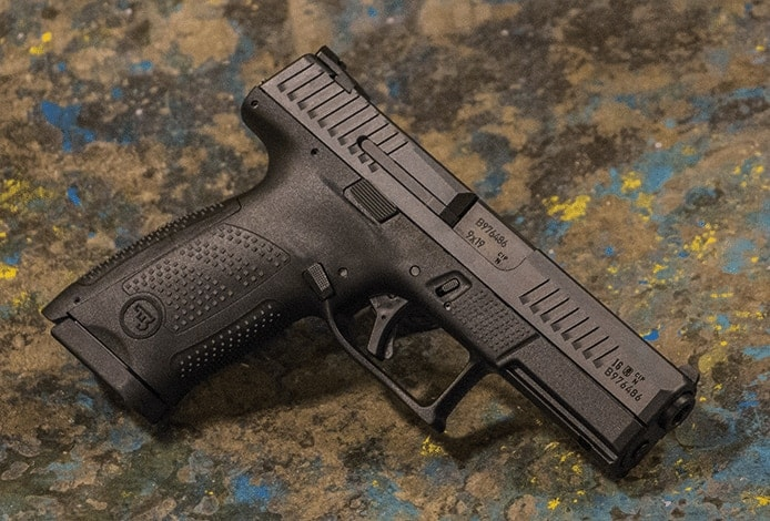 CZ's P-10C just cleared the ATF and is expected to start shipping to retailers in early 2017. (Photo: CZ-USA)