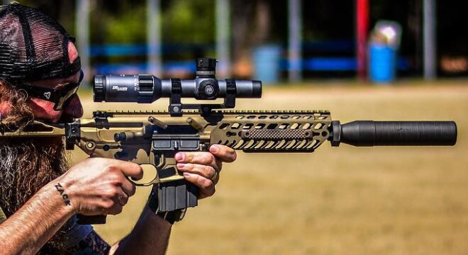 SIG wants those with an MCX to contact them immediately to see if their gun needs an improved carriage assembly (Photo: Sig Sauer Academy)