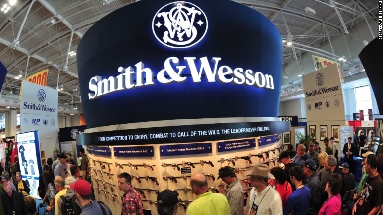 Smith & Wesson plans to shift some focus to the growing outdoor and accessories market which has left some investors nervous about the future. (Photo: CNN Money)