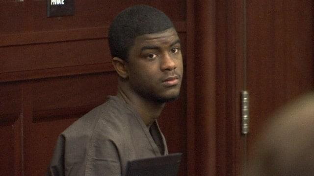 Sharron Townsend in court