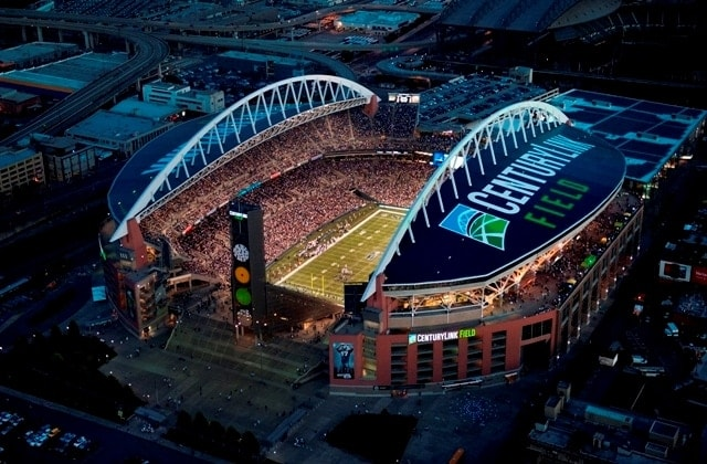 If passed, HB 1015 would allow permit holders to tote concealed firearms into sporting stadiums, such as the Seahawks' CenturyLink Field. (Photo: CenturyLink Field)