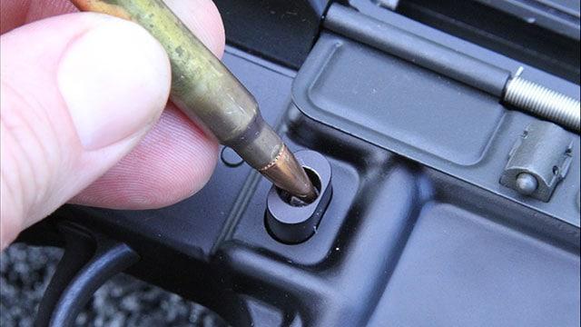 Long gun sales decline 54 percent one year after bullet button ban.(Photo: GunsAmerica.com)