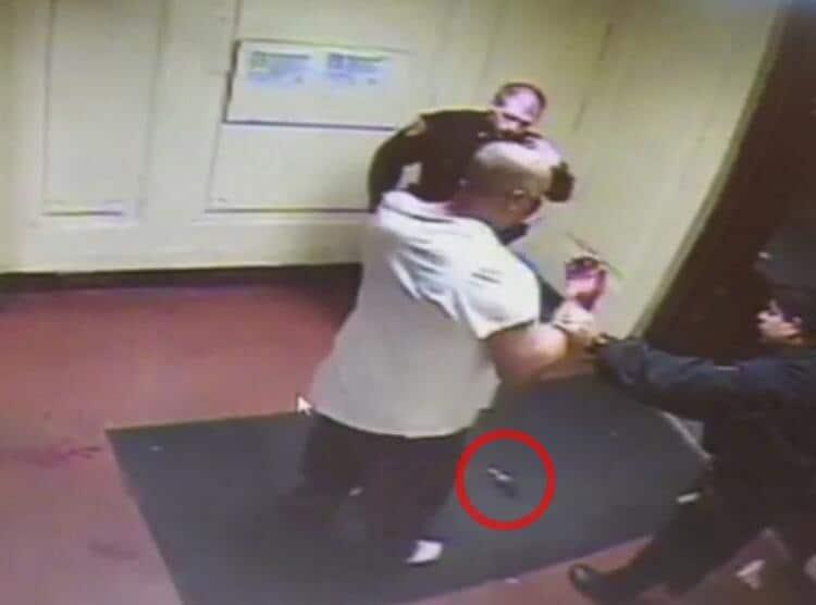 Bronx stabbing arrest footage