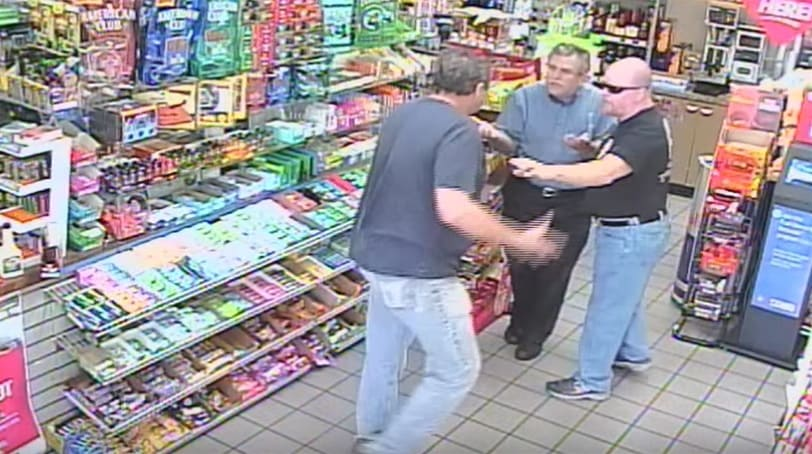 an armed citizen acted in self-defense when he shot and killed an angry, aggressive customer at a Mandeville, Louisiana, gas station in early April.