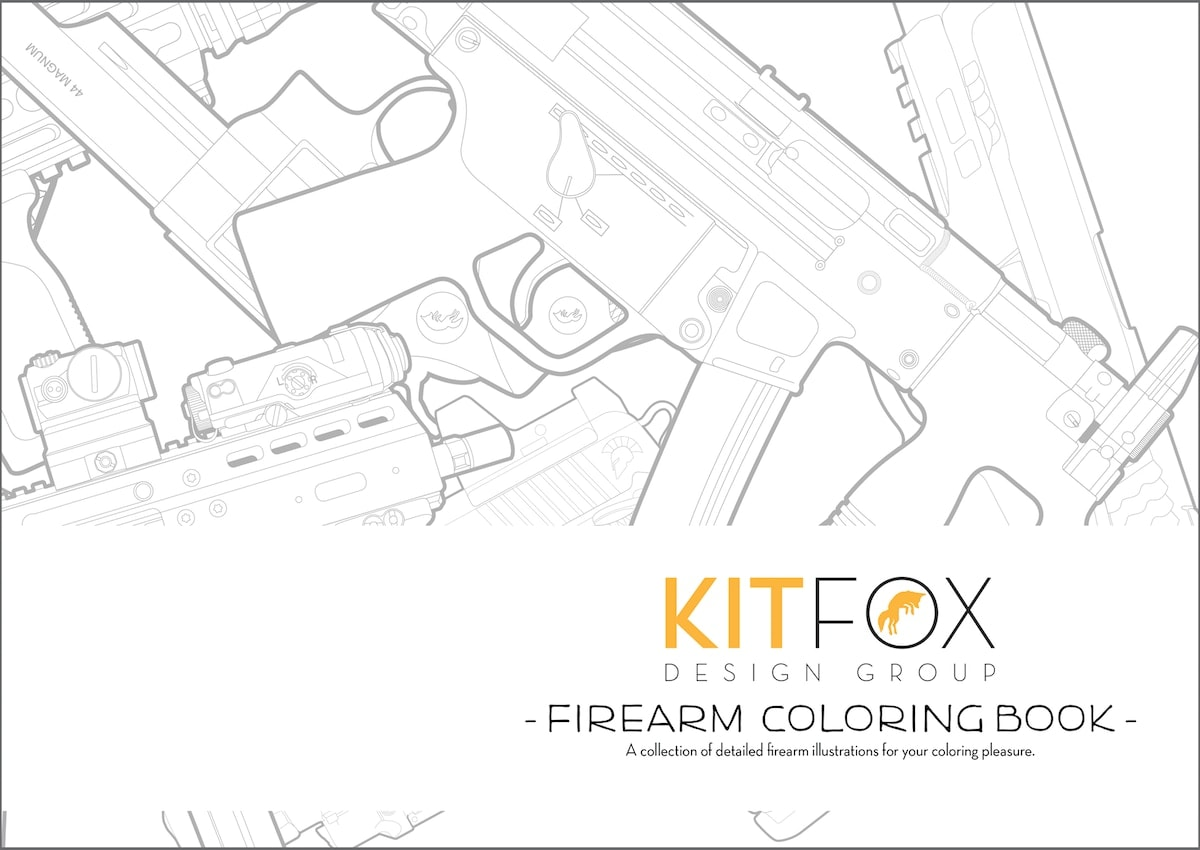 The book is slated to arrive in consumers' hands the first week of February. (Photo: Kitfox Designs)