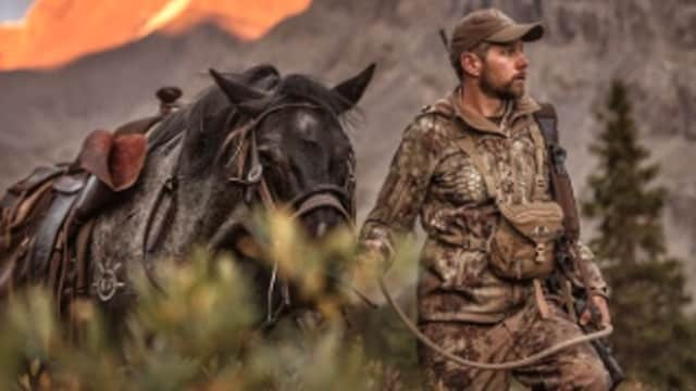 Weatherby's new CEO and president, Adam Weatherby, with his horse. (Photo: Weatherby)