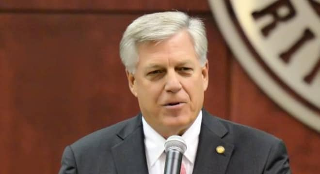Tuscaloosa Republican Sen. Gerald Allen argues the Second Amendment should be all you need to carry a concealed handgun in Alabama. (Photo: Gerald Allen Facebook)
