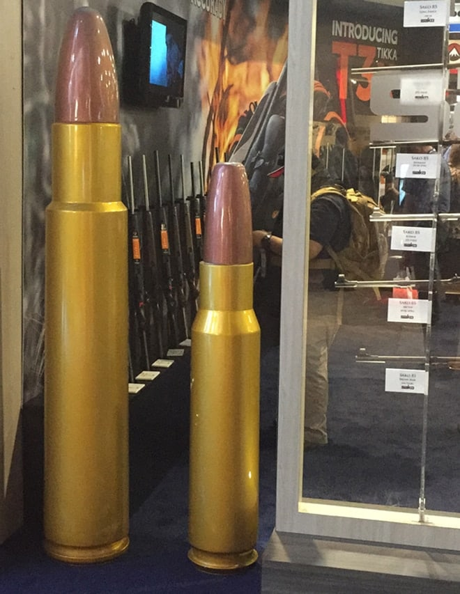 We can't let you go without looking at the man-size bullets. (Photo: Daniel Terrill/Guns.com)