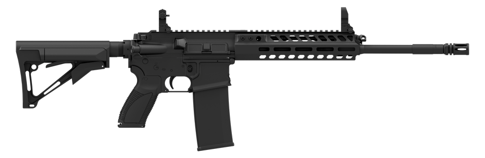 The CAR816 A2 is chambered in 5.56 with various barrel configurations. (Photo: Caracal USA)
