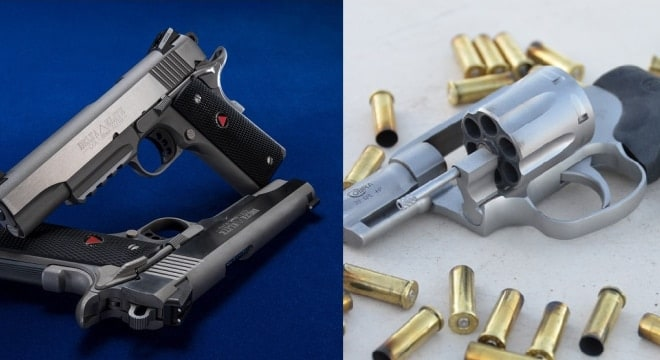 Colt is back in the double-action revolver biz and has updated their Delta Elite for the 21st Century. (Photos: Colt)