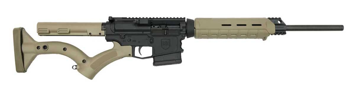 The DS-10 Featureless model is engineered for gun owners in restricted states who require fixed stocks and 10 round mags. (Photo: Dark Storm Industries)