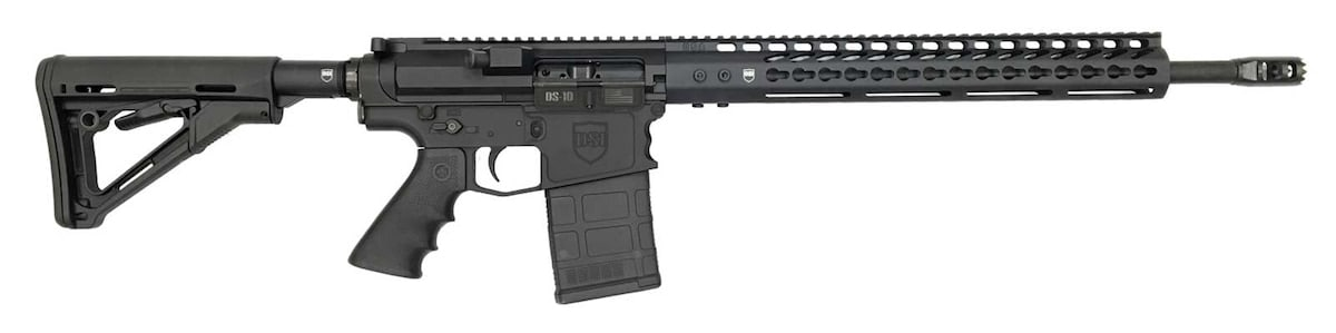 The DS-10 Typhoon is available in either .308 WIN or 6.5 Creedmoor. (Photo: Dark Storm Industries)