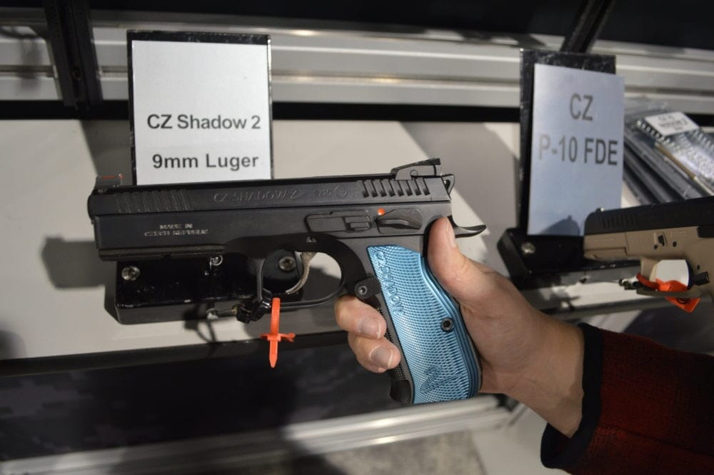 Big news in the competition gun market is CZ's new Shadow 2. Built to USPSA standards, the 9mm Shadow 2 is ready to compete out of the box. (Photo: Kristin Alberts)