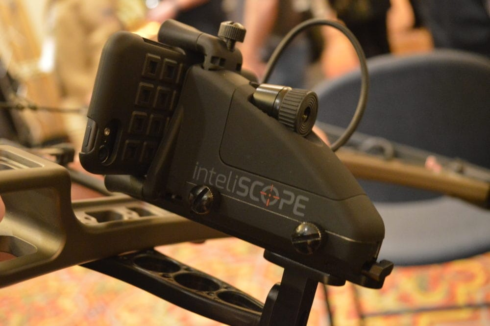 Inteliscope offers mounting brackets for both long guns and bows, allowing users affordable thermal imaging. (Photo: Kristin Alberts)
