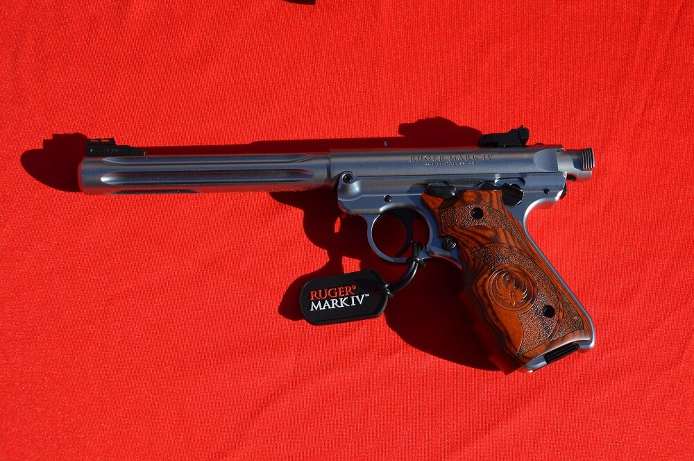 Ruger's Mark IV pistol line replaced the standard rimfire semi-auto handguns carried by the firearms empire throughout their existence and were a crowd-pleaser. (Photos: Chris Eger/Guns.com)