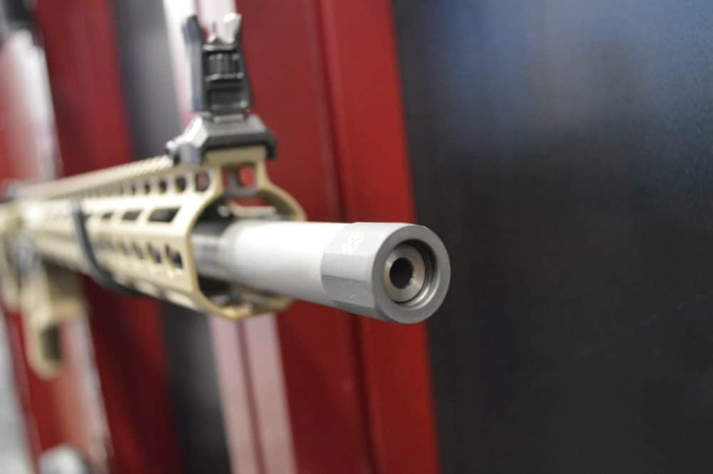 The business end of a 22 Nosler. (Photo: Kristin Alberts)