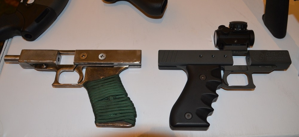 The GB-22 can be done as spartan or swag as the user wants.
