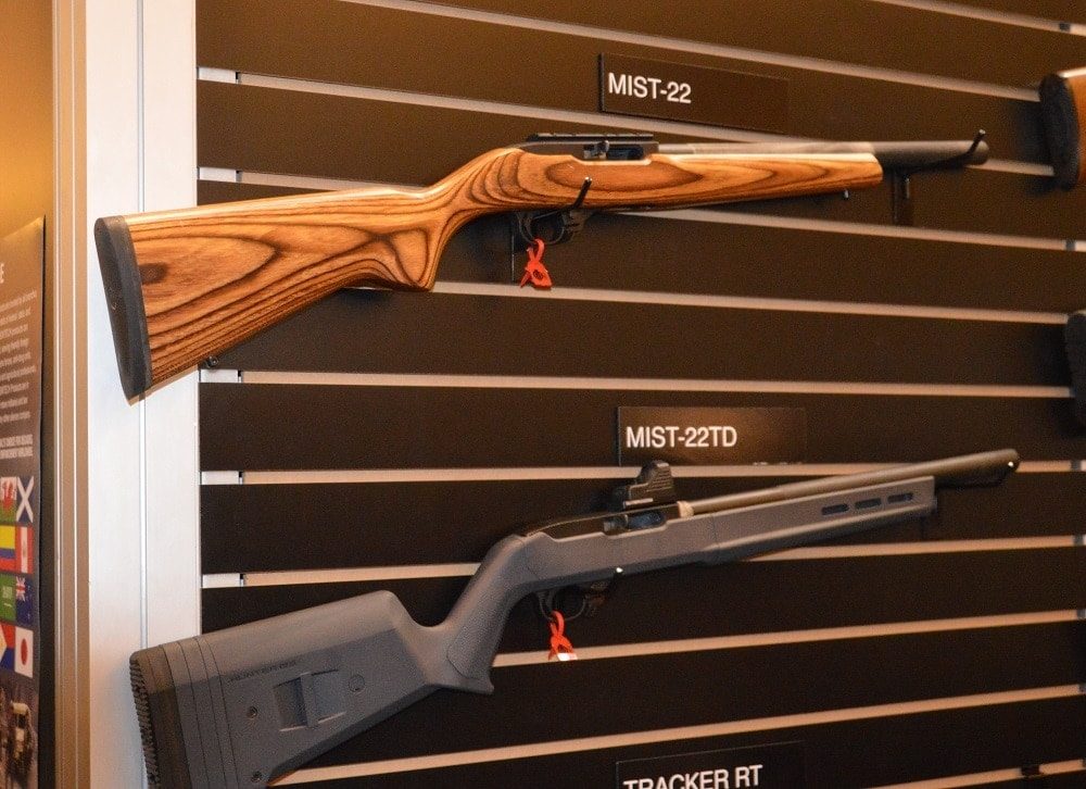 The MIST-TD is an easy swap out for any user of the 10/22 Take Down, and runs just 16.1-inches, preserving the OE length of that handy little rifle.