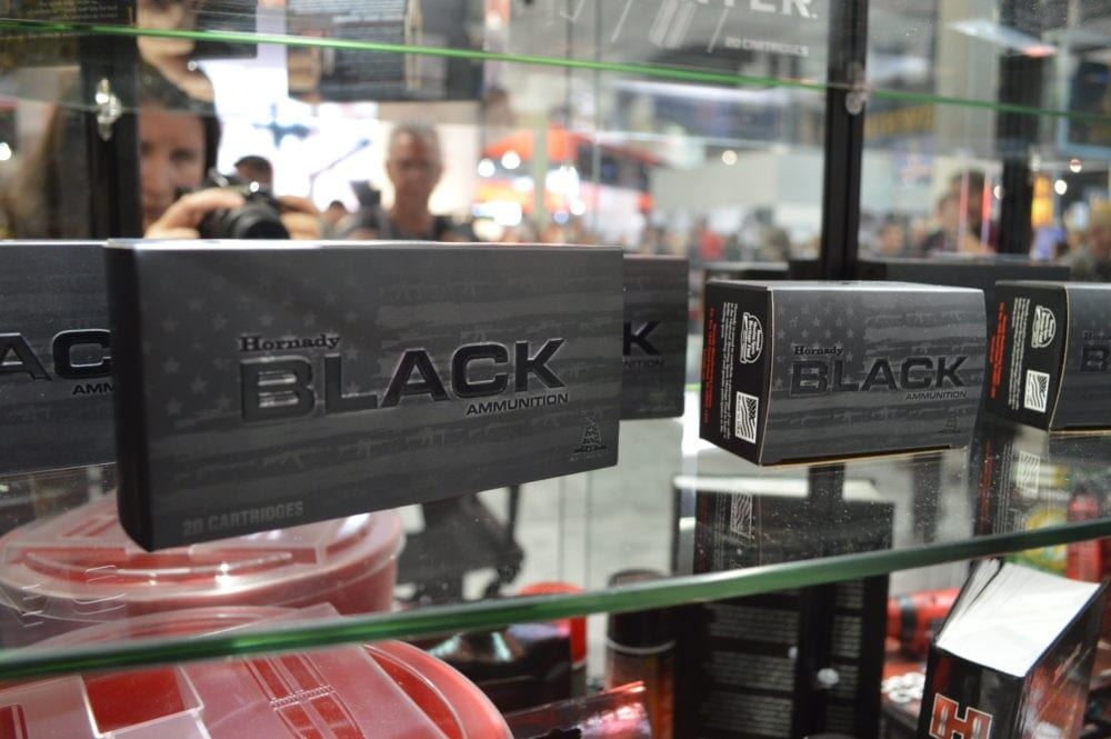 Hornady's new BLACK line of ammo is built specifically for, you guessed it, black guns. (Photo: Kristin Alberts)