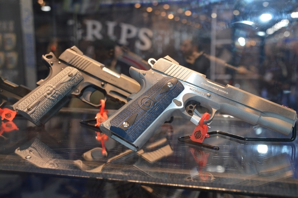 Colt's newest entries into the long line include the revamped Combat Commander and a Delta Elite 10mm rail gun.