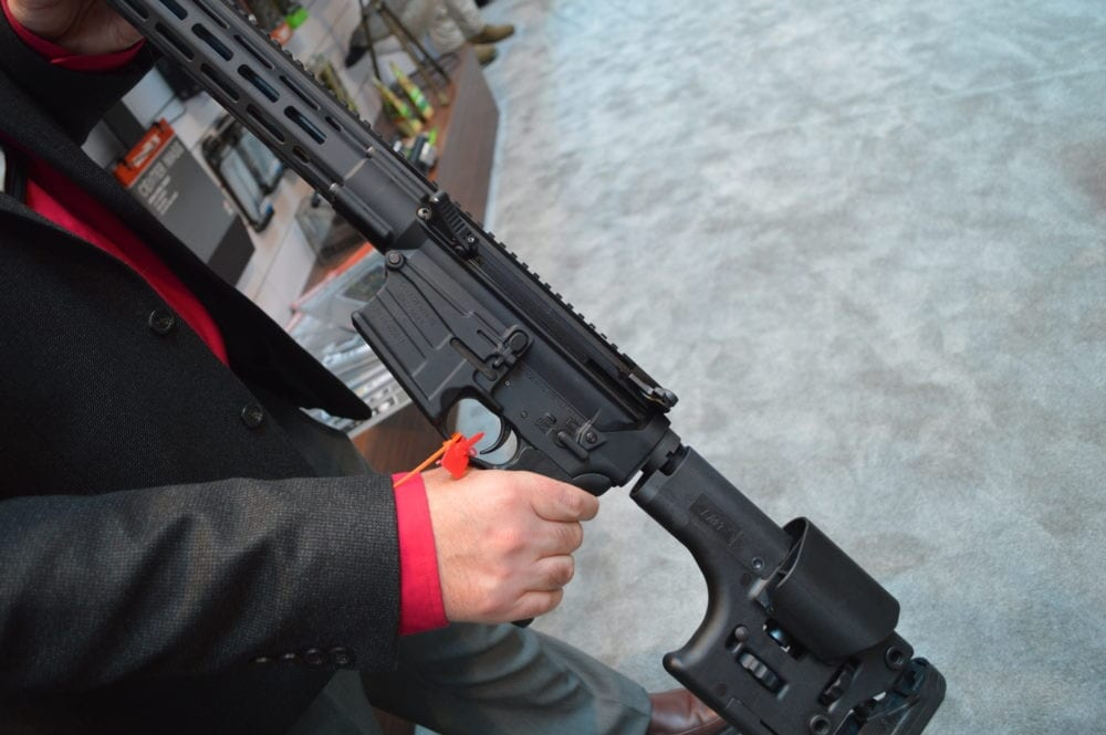 Savage's MSR line is one of few side-charging AR-rifles on the market, with the side-detail shown here on the MSR-10 Long Range. (Photo: Kristin Alberts)