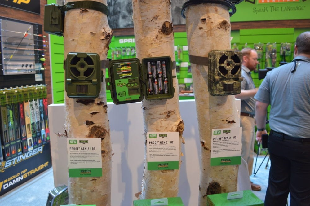 Not all trail cameras on the market break the bank, as this trio of Primos options come in just over $100 and still have the most popular features with simpler controls and Primos quality. (Photos: Kristin Alberts)