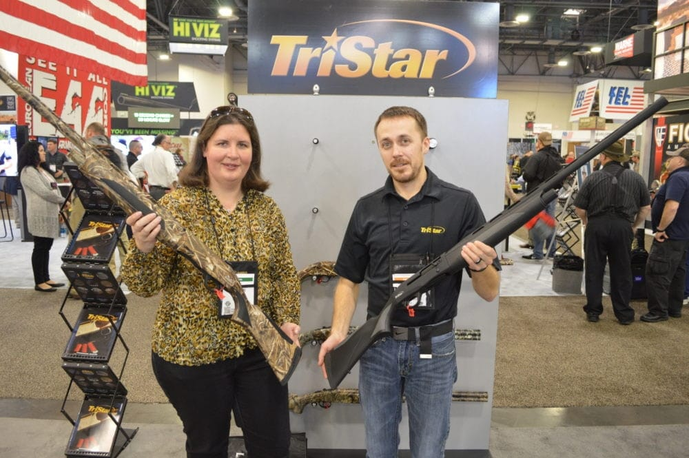 TriStar introduced an improved magnum hunting shotgun with the Viper G2 Max 12-gauge semi-auto, available in both black and camo. (Photo: Kristin Alberts)