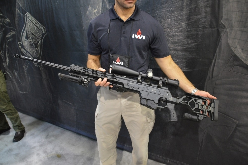 The IWI DAN 338 is designed for serious shooters and long-range competitors (Photos: Chris Eger/Guns.com)