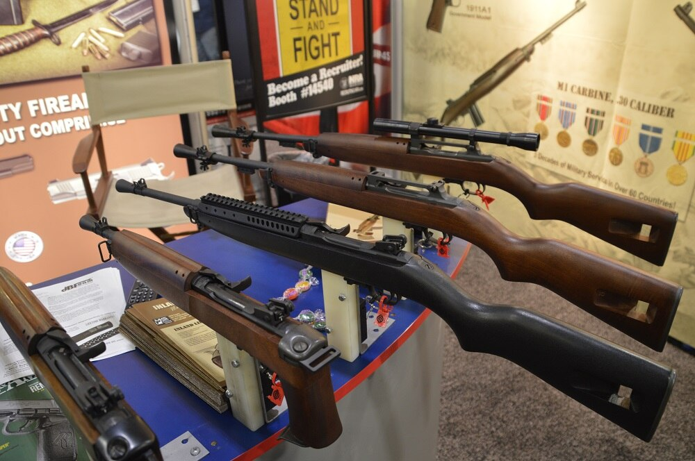 Inland has some new twists on some vintage ideas at this year's SHOT Show. (Photos: Chris Eger/Guns.com)