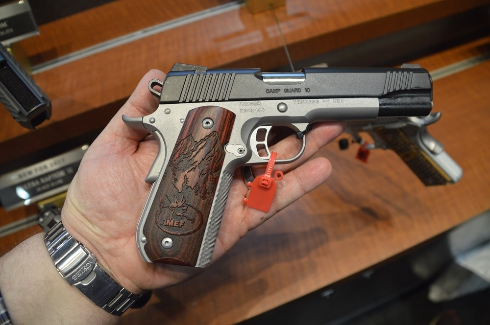 Kimber's new Camp Guard 10mm is powerful bear repellent priced at $1,228