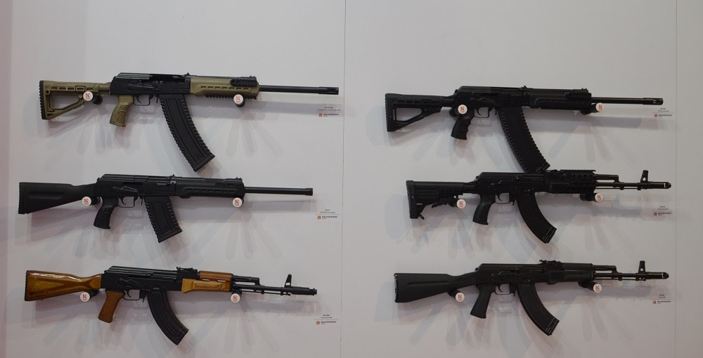 To include the very nice KS-12 shotguns (top) now in FDE