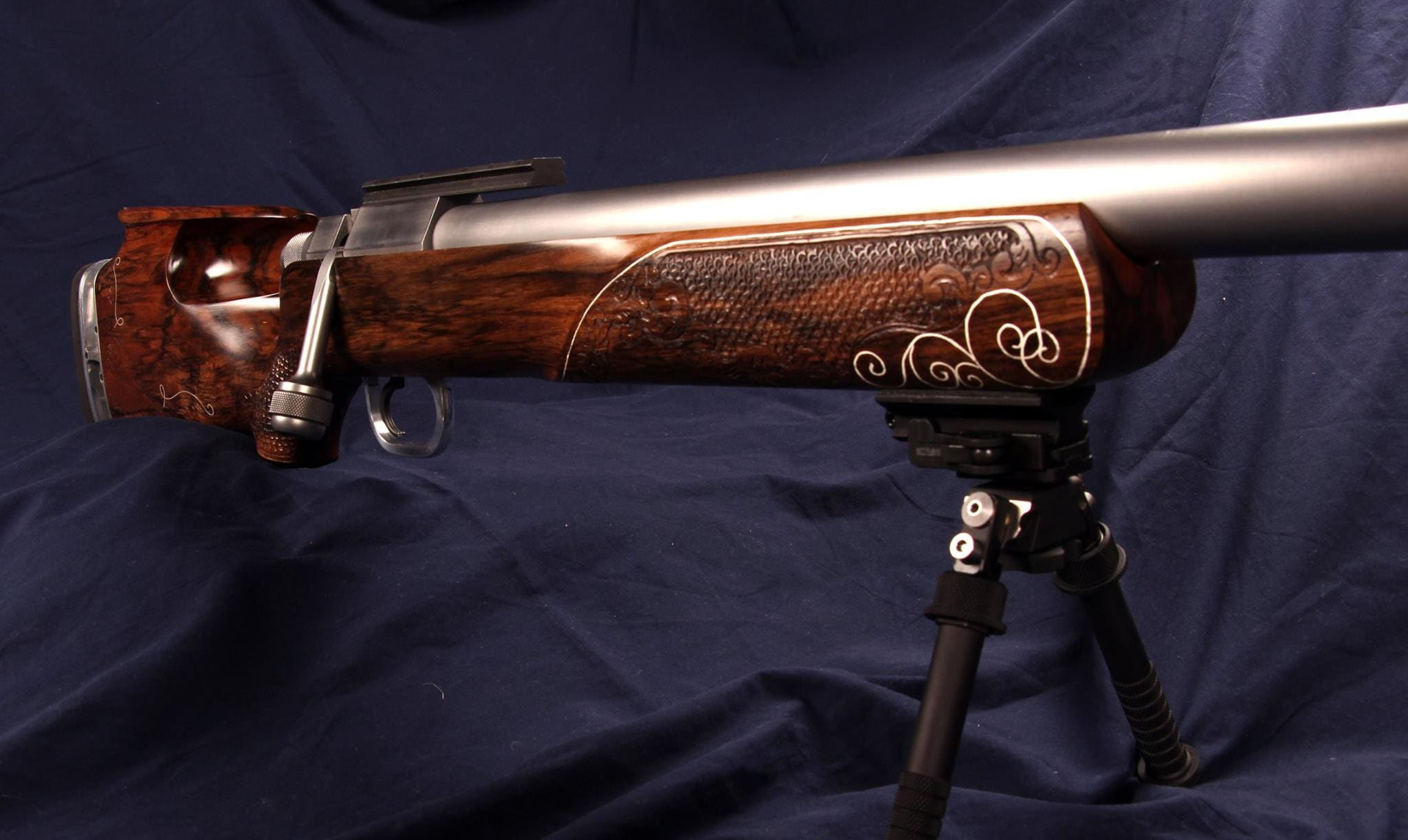 Dig this custom .50BMG crafted by a gunsmithing student (6)