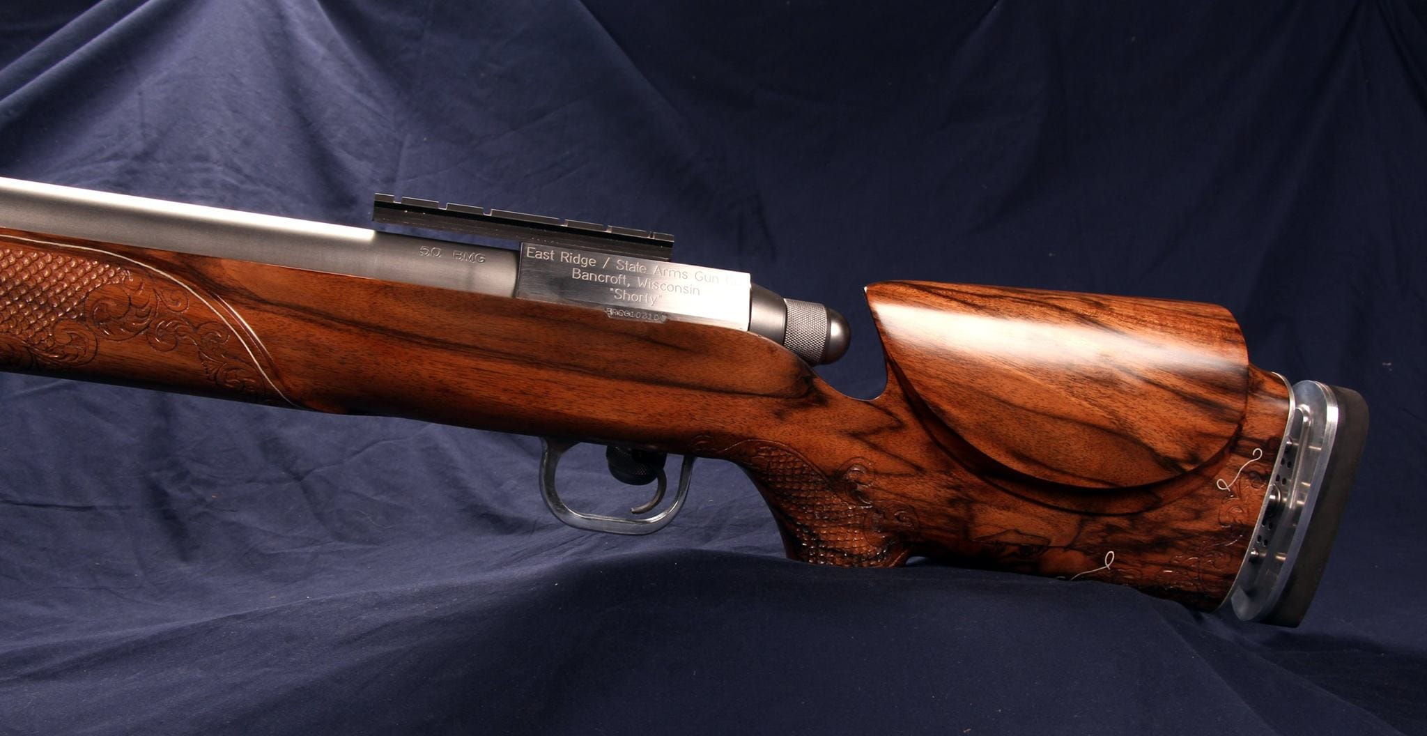 Dig this custom .50BMG crafted by a gunsmithing student (7)