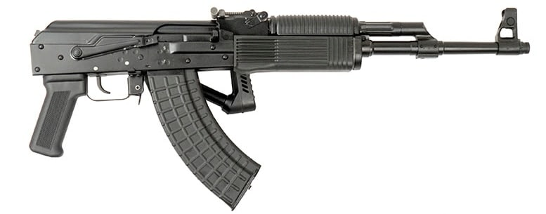 The Vepr AK-47 brings the Molot folding stock on a 16.5 inch barrel stateside. (Photo: FIME Group)