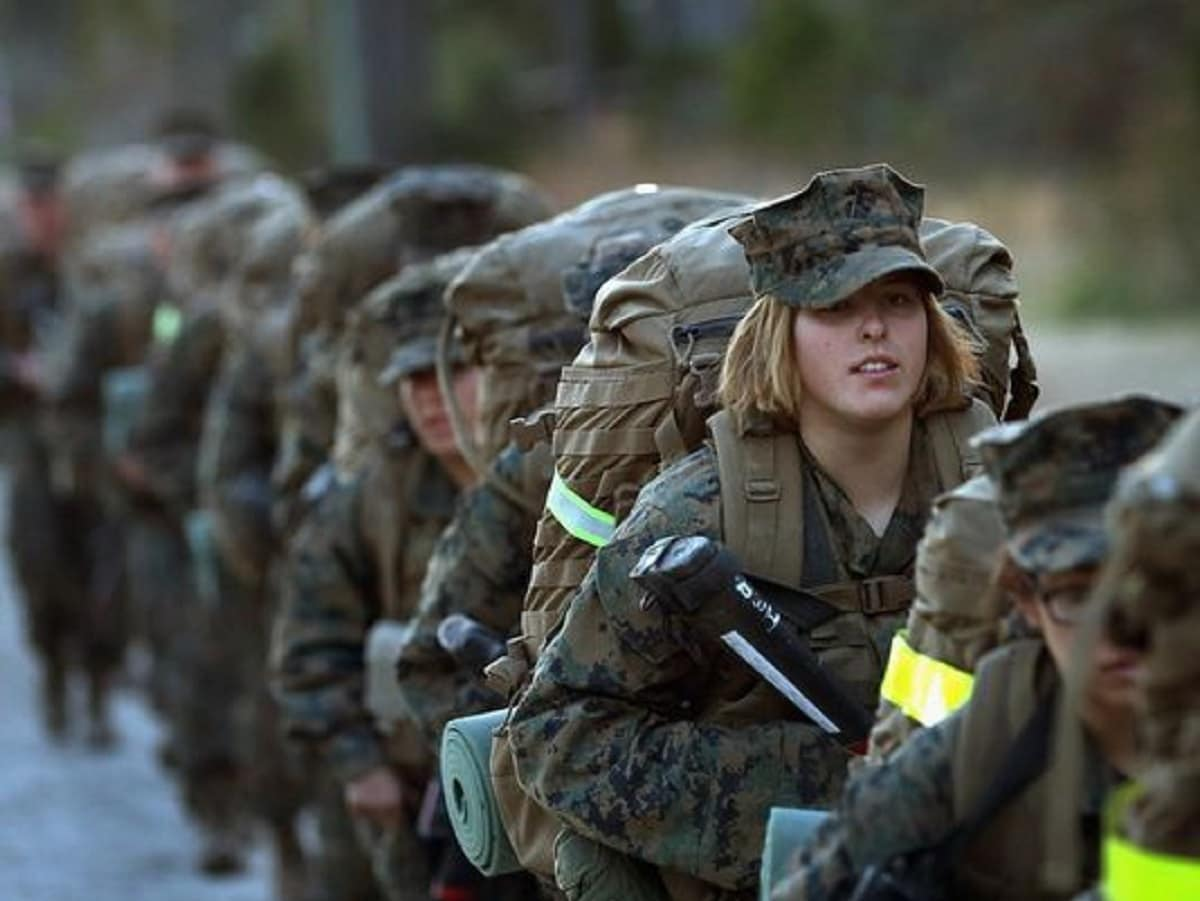 First three women infantry Marines will join their unit on Thursday (Photo: Grunt Report)