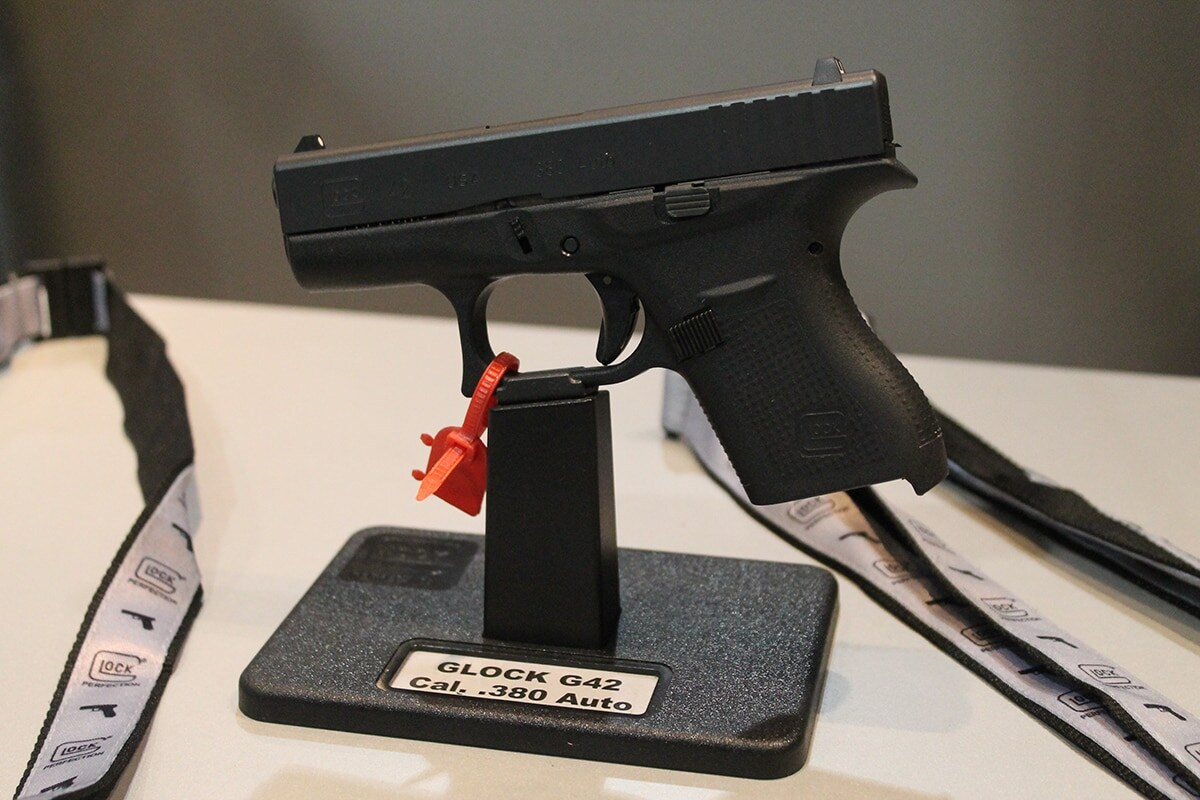 The Glock 42 chambered in .380. (Photo: Jacki Billings)