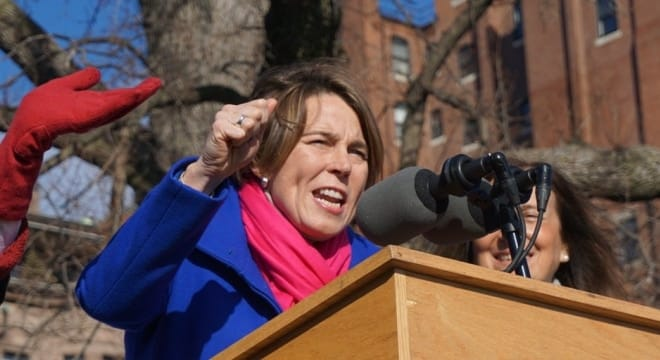 Massachusetts Attorney General Maura Healey is now facing at least two civil suits over her interpretation of what firearms are banned under commonwealth law. (Photo: Maura Healey Twitter)
