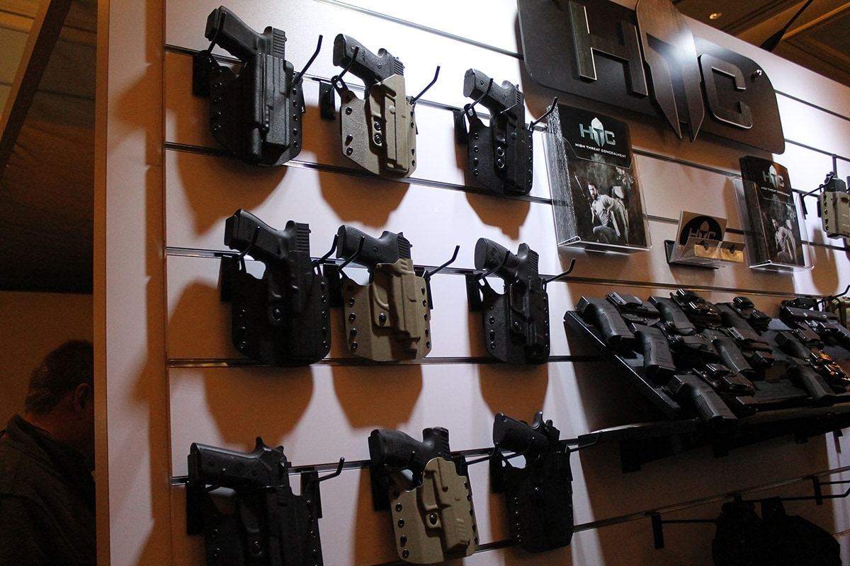 Kydex holsters from Hight Threat Concealment. (Photo: Jacki Billings)