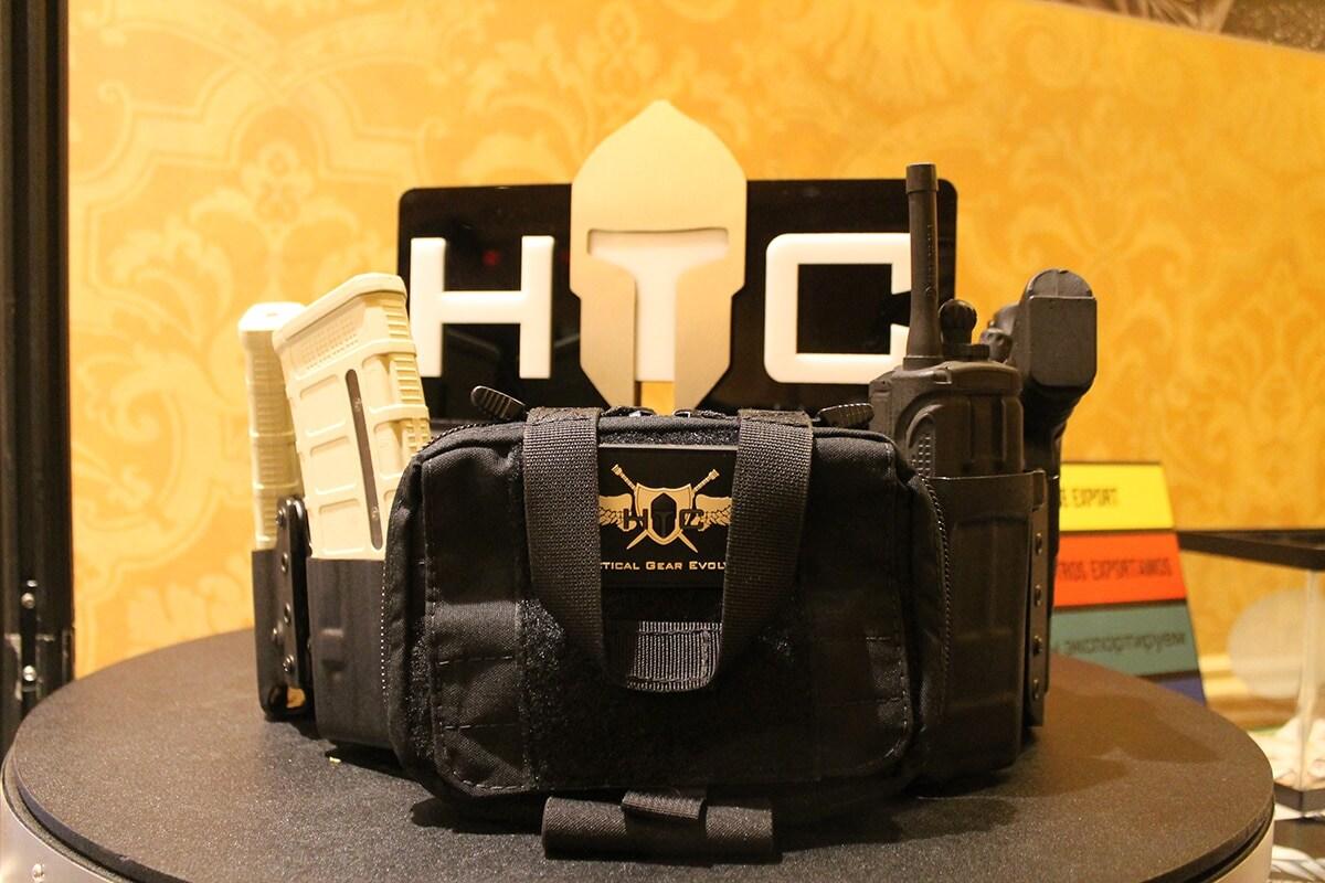 Battle belt from HTC. (Photo: Jacki Billings)