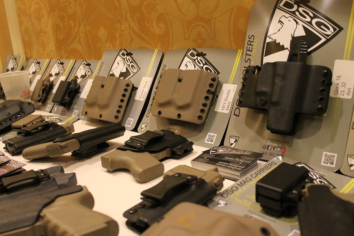 DSG holsters offers a selection of OWB and IWB rigs so long as you like the colors black or tan. (Photo: Jacki Billings)