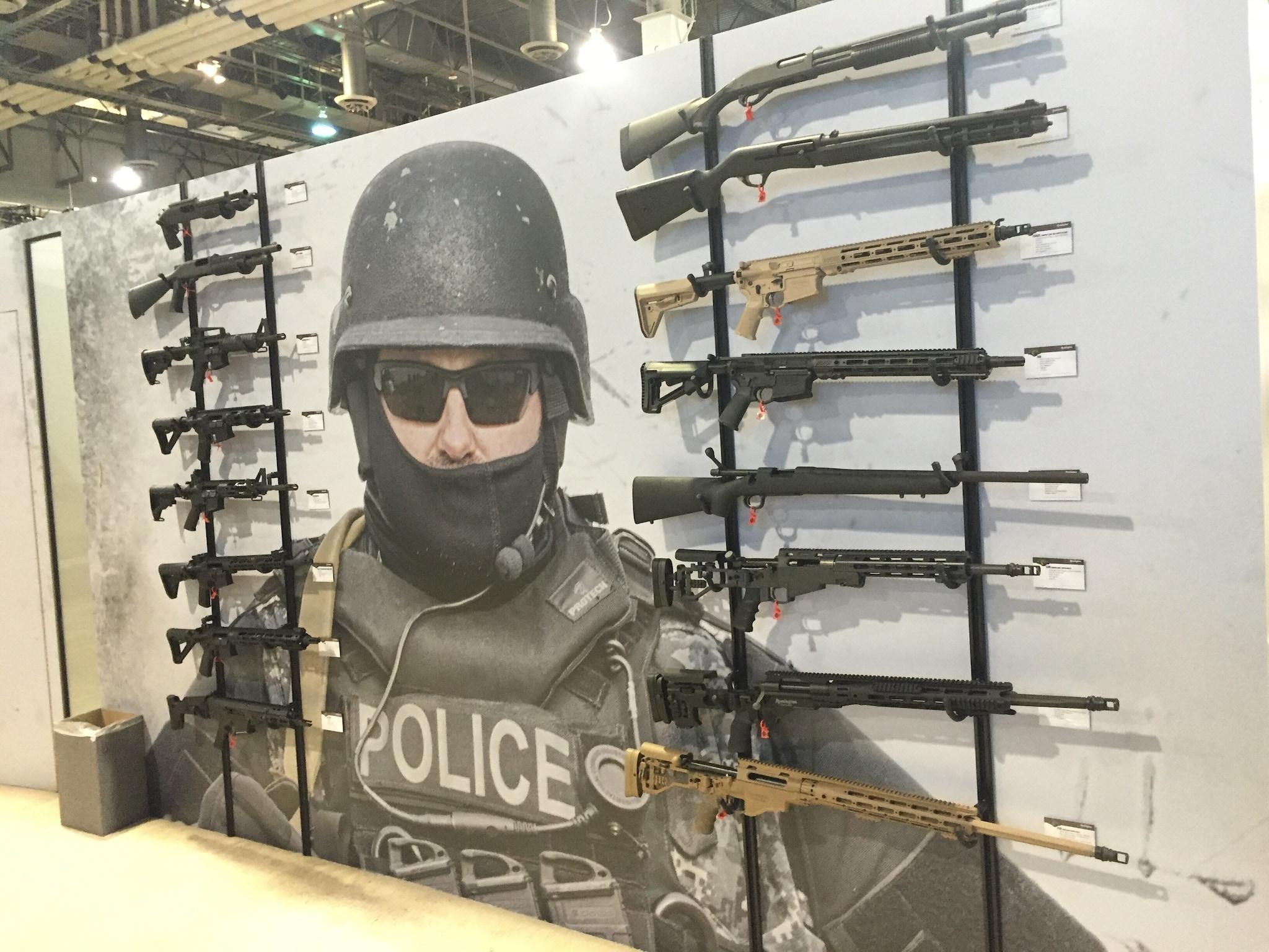 Remington Defense display.