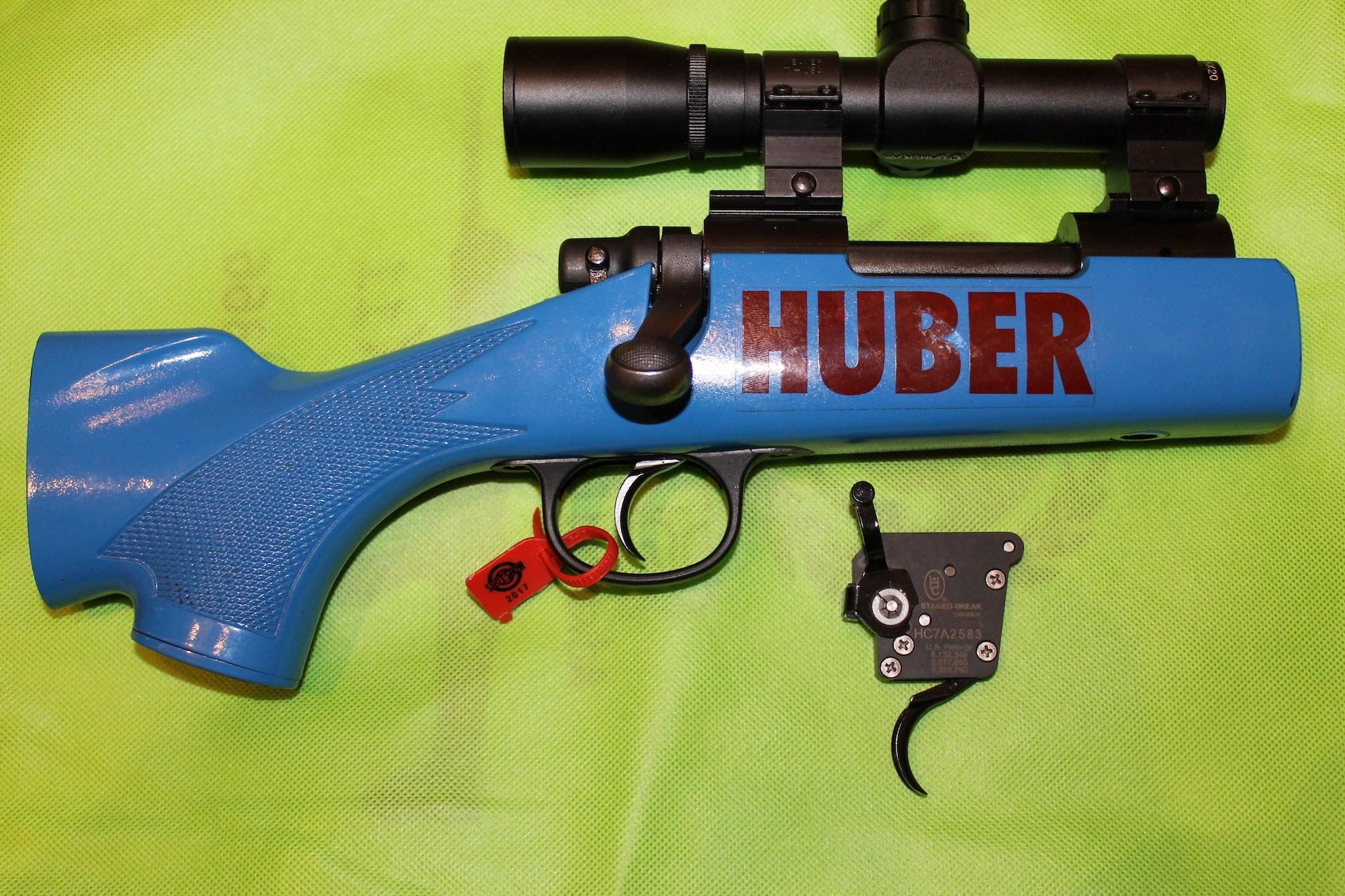Huber roller bearing trigger