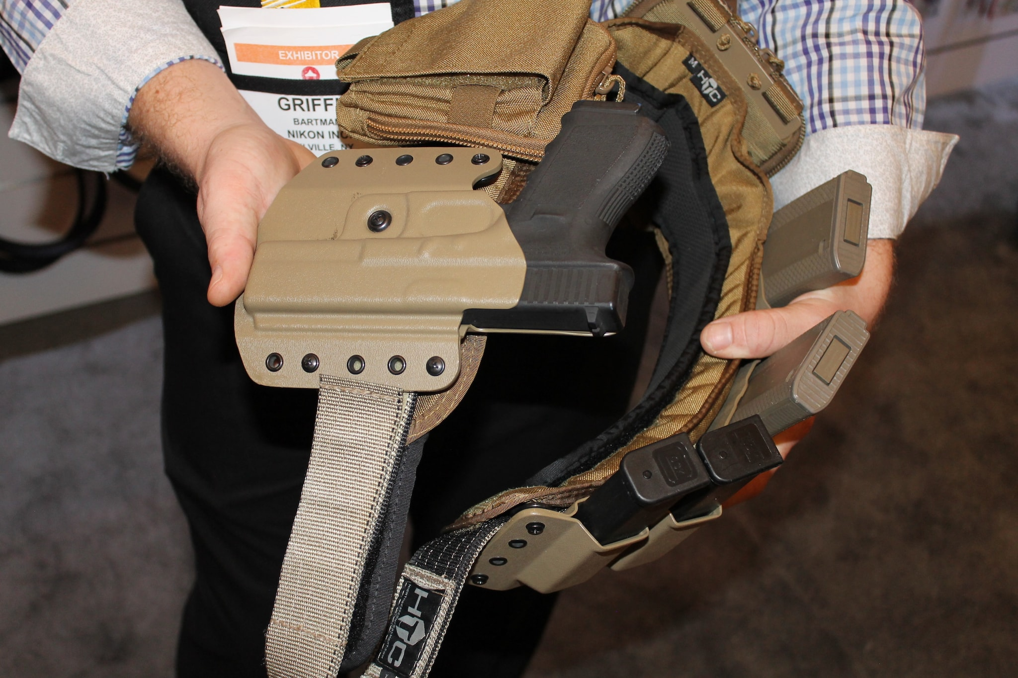 High Threat Concealment's Low Profile System.