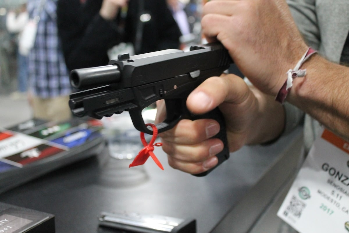 The gun's slide is easy to manipulate and control. (Photo: Jacki Billings)