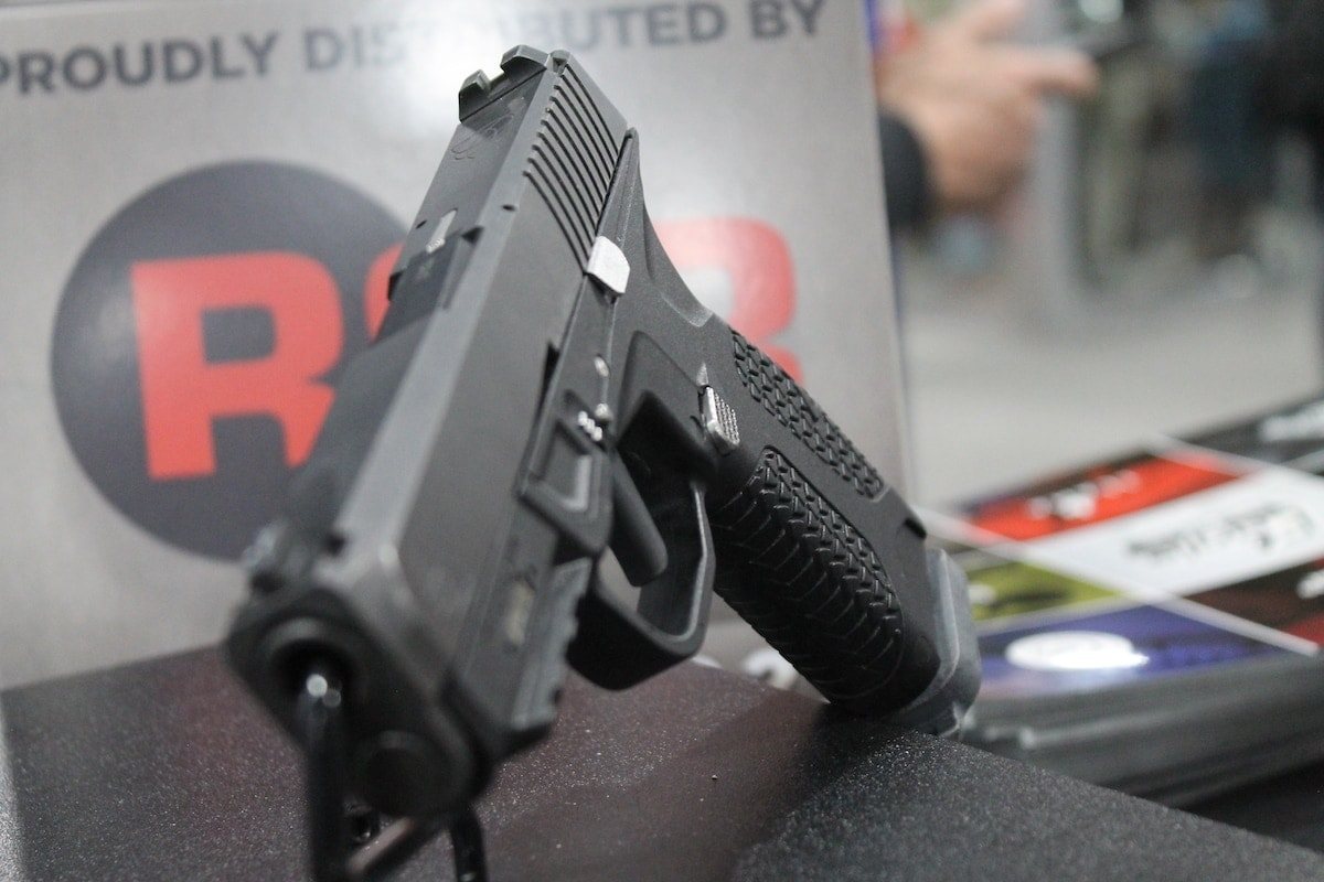 The PD10 is a striker-fired, single stack pistol. (Photo: Jacki Billings)