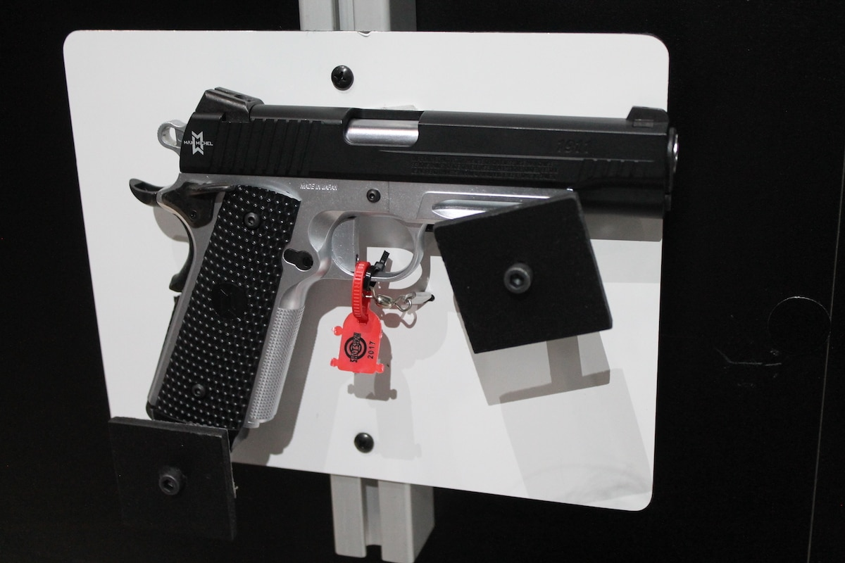 The 1911 Max Michel was engineered with input from competitive Sig shooter Max Michel. (Photo: Jacki Billings)
